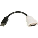 StarTech.com DisplayPort to DVI Video Adapter Converter - 1 x DVI-D Video - 1 x DisplayPort Digital Audio/Video