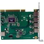 StarTech.com 7 Port PCI USB Card Adapter - 4 x 4-pin Type A Female USB 2.0 USB External