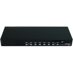 StarTech.com 8 Port 1U Rackmount DVI USB KVM Switch - 8 Port - 1U - Rack-mountable