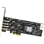 StarTech.com 4 Port PCI Express PCIe SuperSpeed USB 3.0 Card Adapter w/ 4 Dedicated 5Gbps Channels