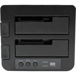 StarTech.com eSATA / USB 3.0 Hard Drive Duplicator Dock - 2 x Total Bay - 2 x 2.5And#34;/3.5And#34; Bay - UASP