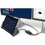 StarTech.com MST Hub - DisplayPort to 2x DisplayPort - Multi Stream Transport Hub - DP 1.2 to DP - DisplayPort - USB