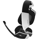 Corsair VOID PRO RGB Wireless 50 mm Stereo Headset - Over-the-head - Circumaural - White - 12.2 m - 32 Kilo Ohm - 20 Hz - 20 kHz