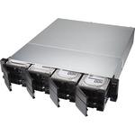 QNAP TS-1277XU-RP-1200-4G 12 x Total Bays SAN/NAS Storage System - AMD Ryzen 3 Quad-core 4 Core 3.10 GHz - 4 GB RAM - DDR4 SDRAM - 2U Rack-mountable - Serial ATA/6