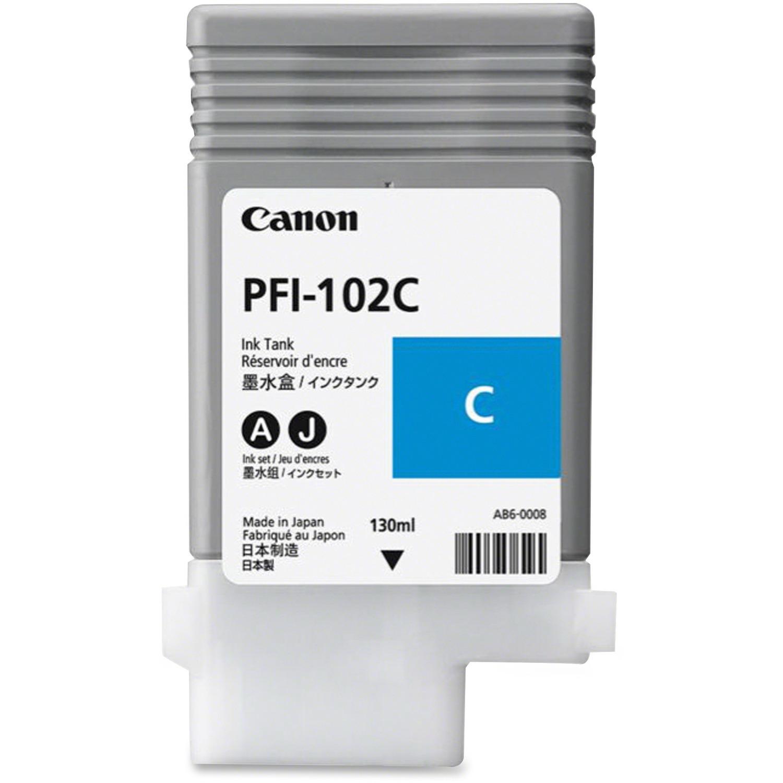 Canon 0896B001AA Ink Cartridge - Cyan