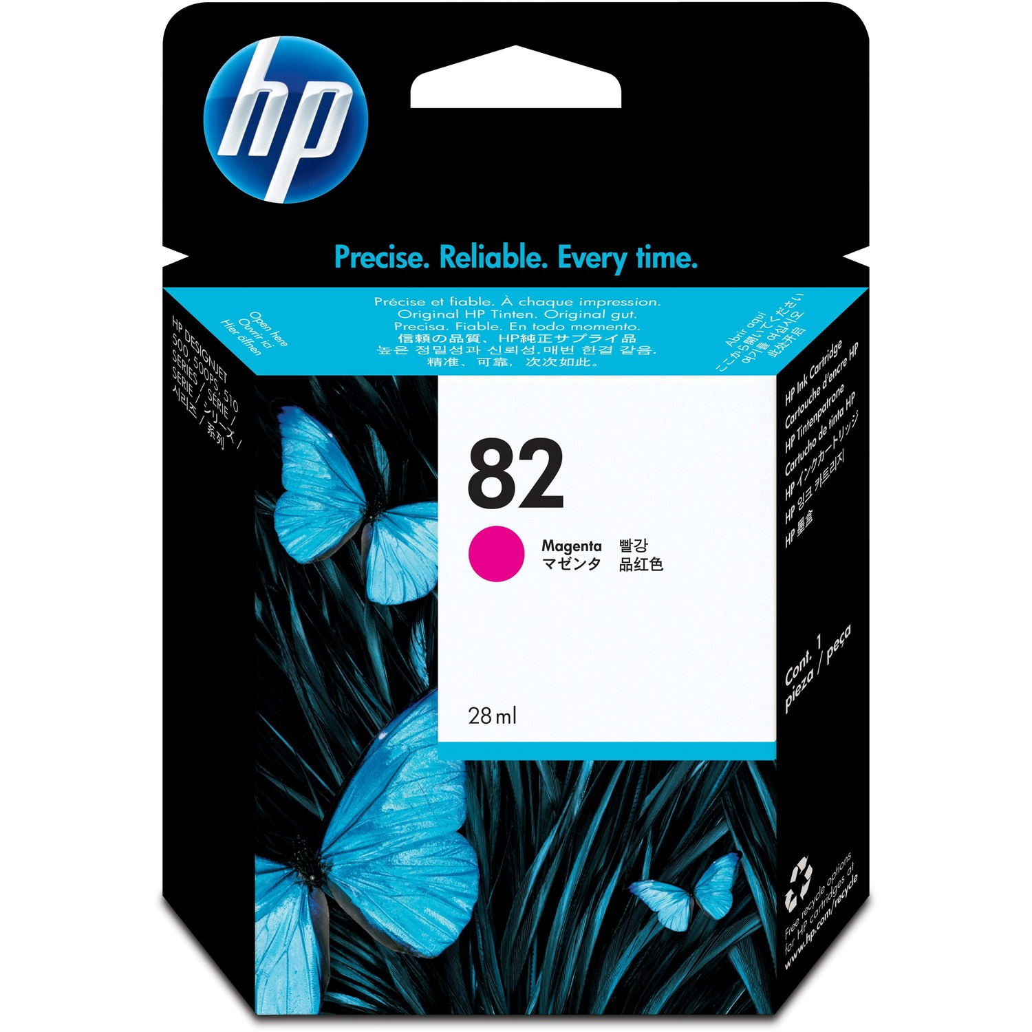 HP CH567A Ink Cartridge - Magenta