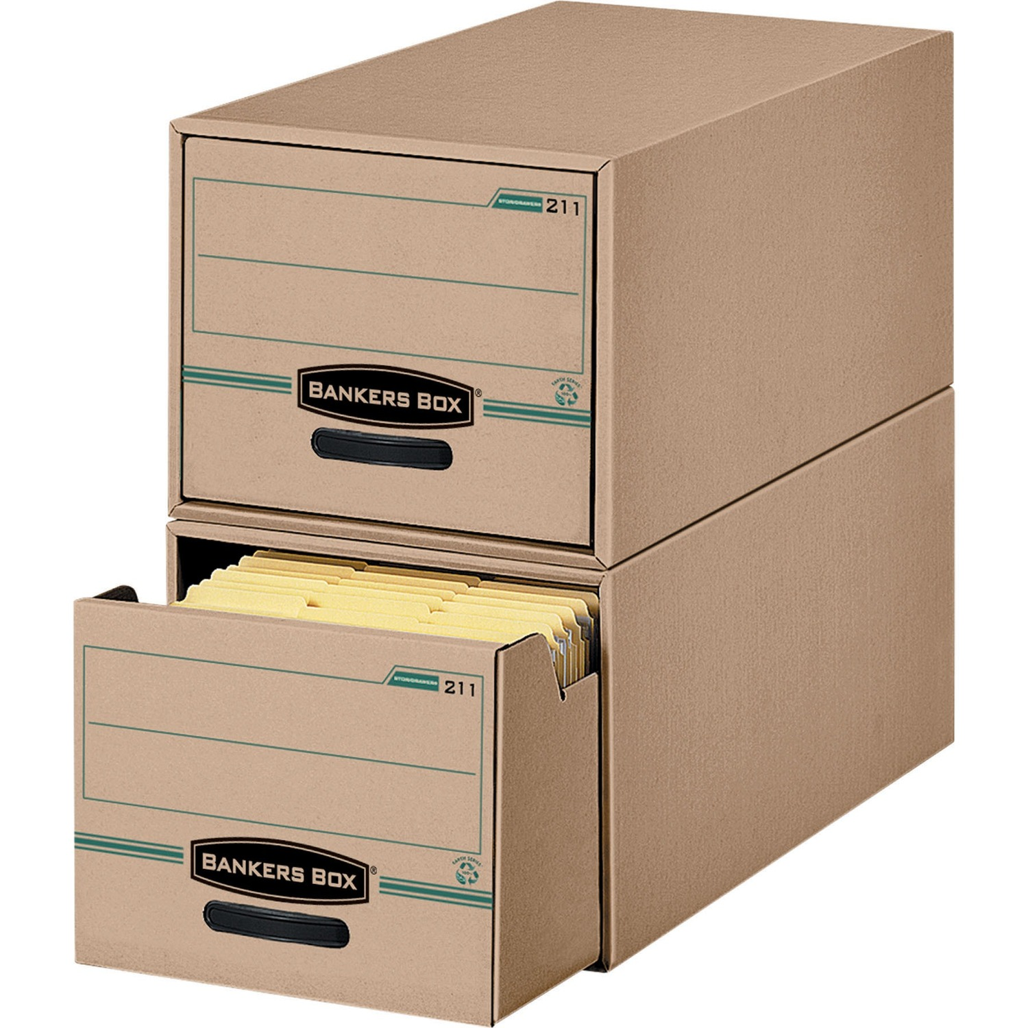 Bankers Box Recycled Stor Drawer Legal Internal Dimensions 15 50 393 70 Mm Width X 23 25 590 55 Depth 10 38 263 52 Height External