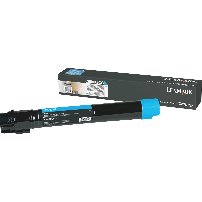 Lexmark C950X2CG Toner Cartridge - Cyan