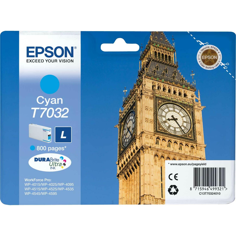 Epson C13T70324010 Ink Cartridge - Cyan