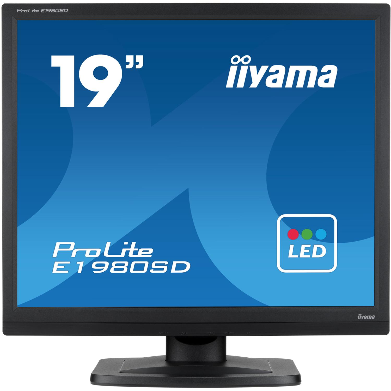 iiyama ProLite E1980SD 19 inch LED Backlit LCD Monitor