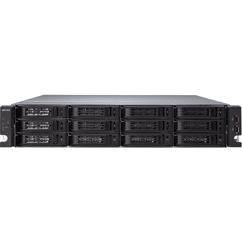 Buffalo TeraStation TS-2RZS08T04D 12 x Total Bays Network Storage Server - 2U - Rack-mountable