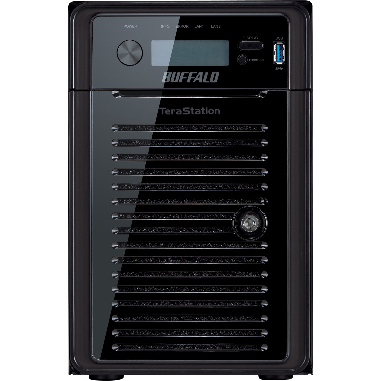 Buffalo TeraStation WS5600D2406 6 x Total Bays Network Storage Server - 1 x Intel Atom D2700 Dual-core 2 Core 2.13 GHz - 24 TB HDD 6 x 4 TB - RAID Supported 0, 1