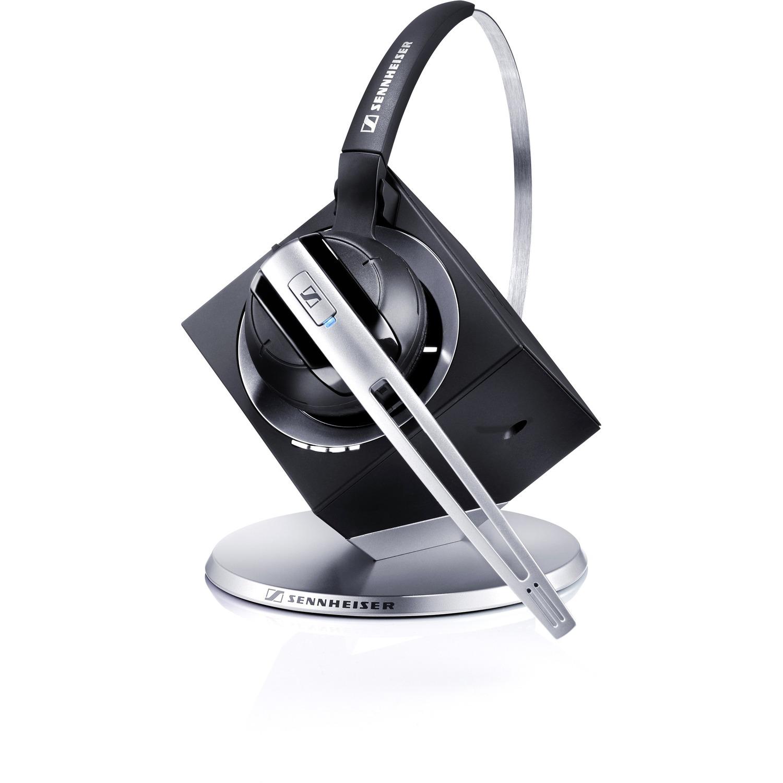 Sennheiser DW Office USB ML Wireless DECT 50 mm Mono Headset - Over-the-head - Circumaural