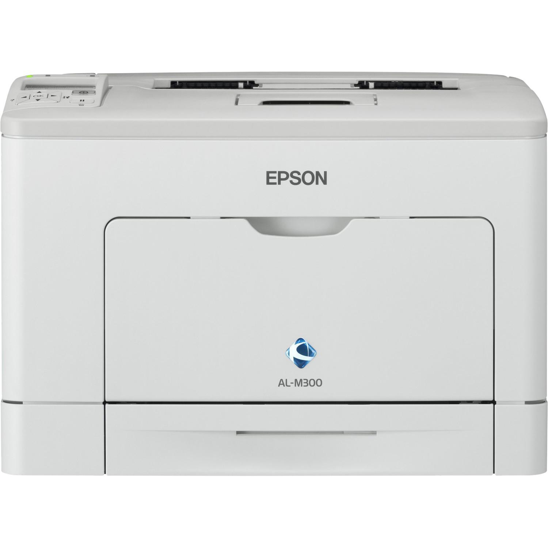 Epson WorkForce AL-M300D Laser Printer - Monochrome - 1200 dpi Print - Plain Paper Print - Desktop