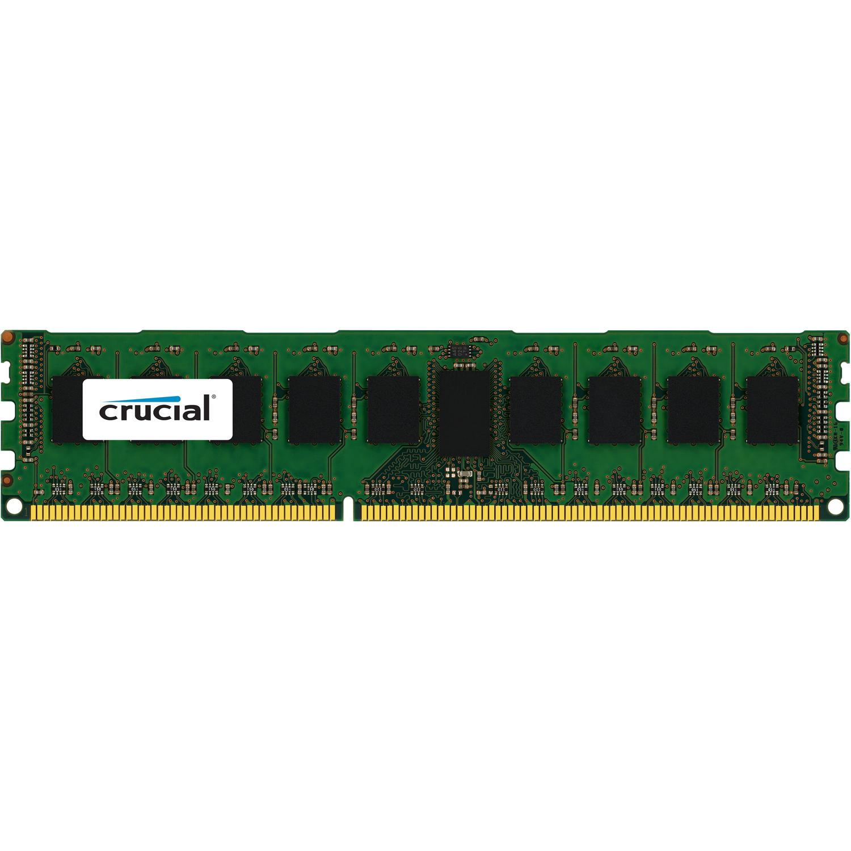 Crucial RAM Module - 8 GB - DDR3 SDRAM - 1866 MHz DDR3-1866/PC3-14900 - 1.50 V - ECC - Registered - CL13 - 240-pin - DIMM