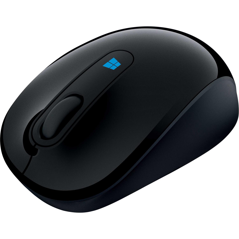 Microsoft Sculpt Mobile Mouse Black, BlueTrack,