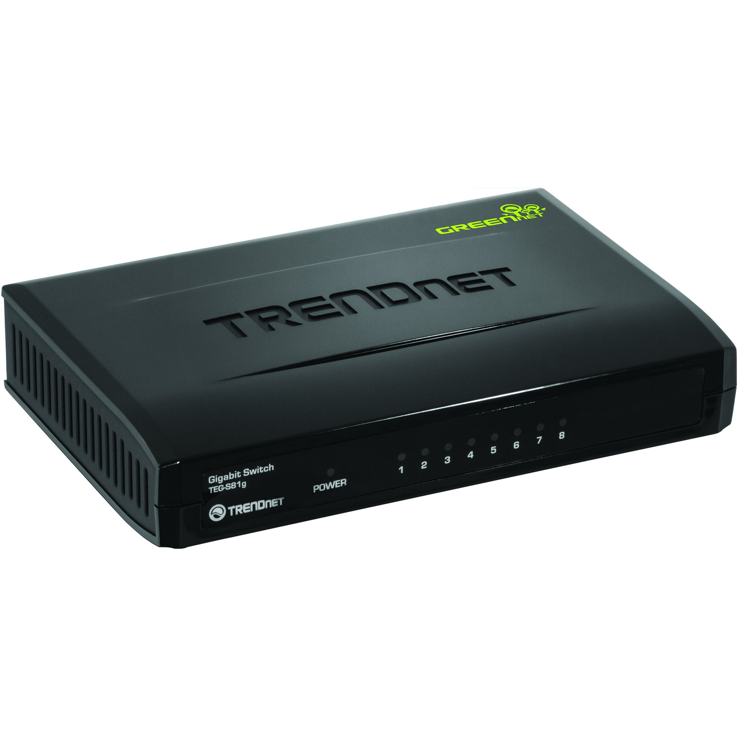 TRENDnet TEG-S81G 8 Ports Ethernet Switch