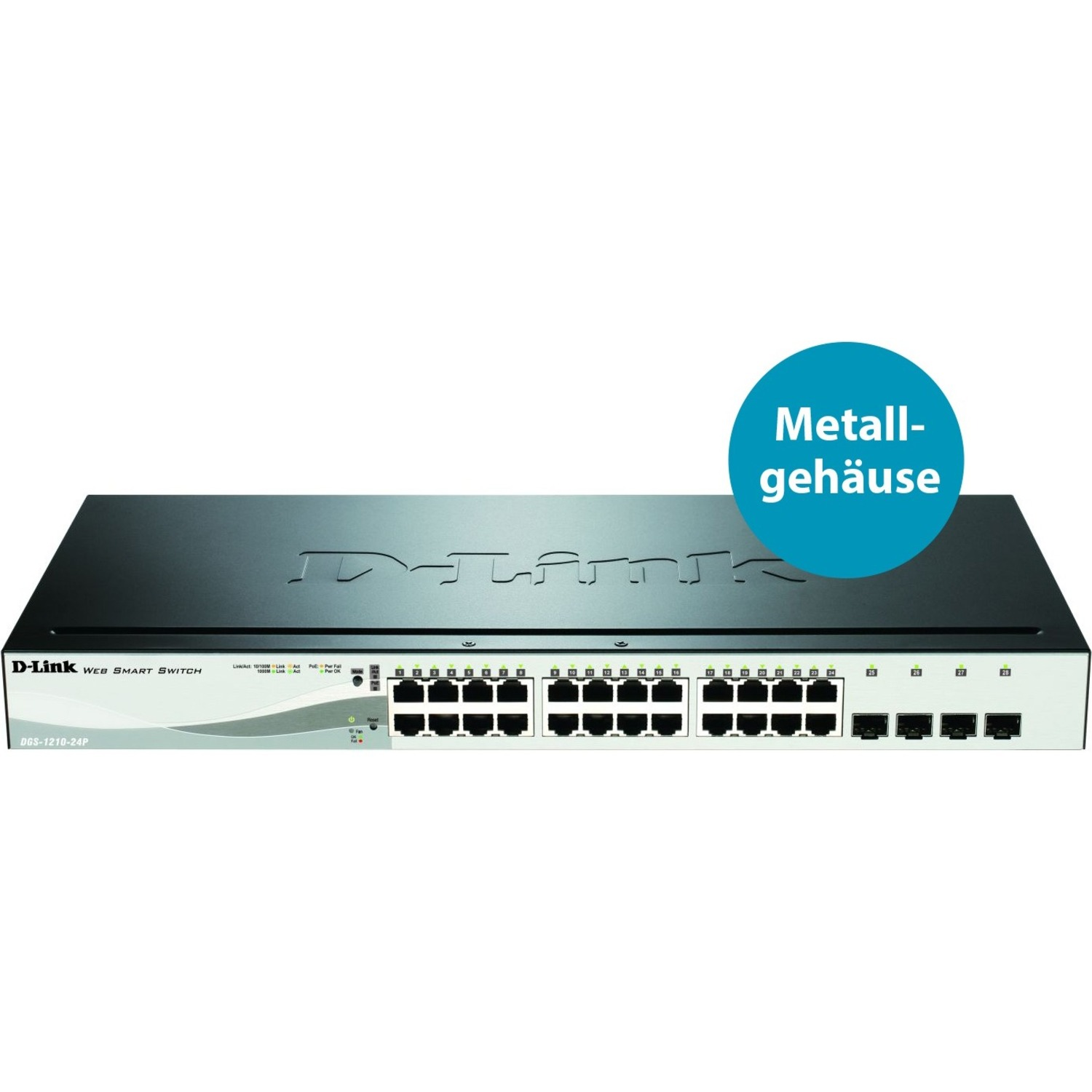 D-Link DGS-1210-24P 24 Ports Manageable Ethernet Switch