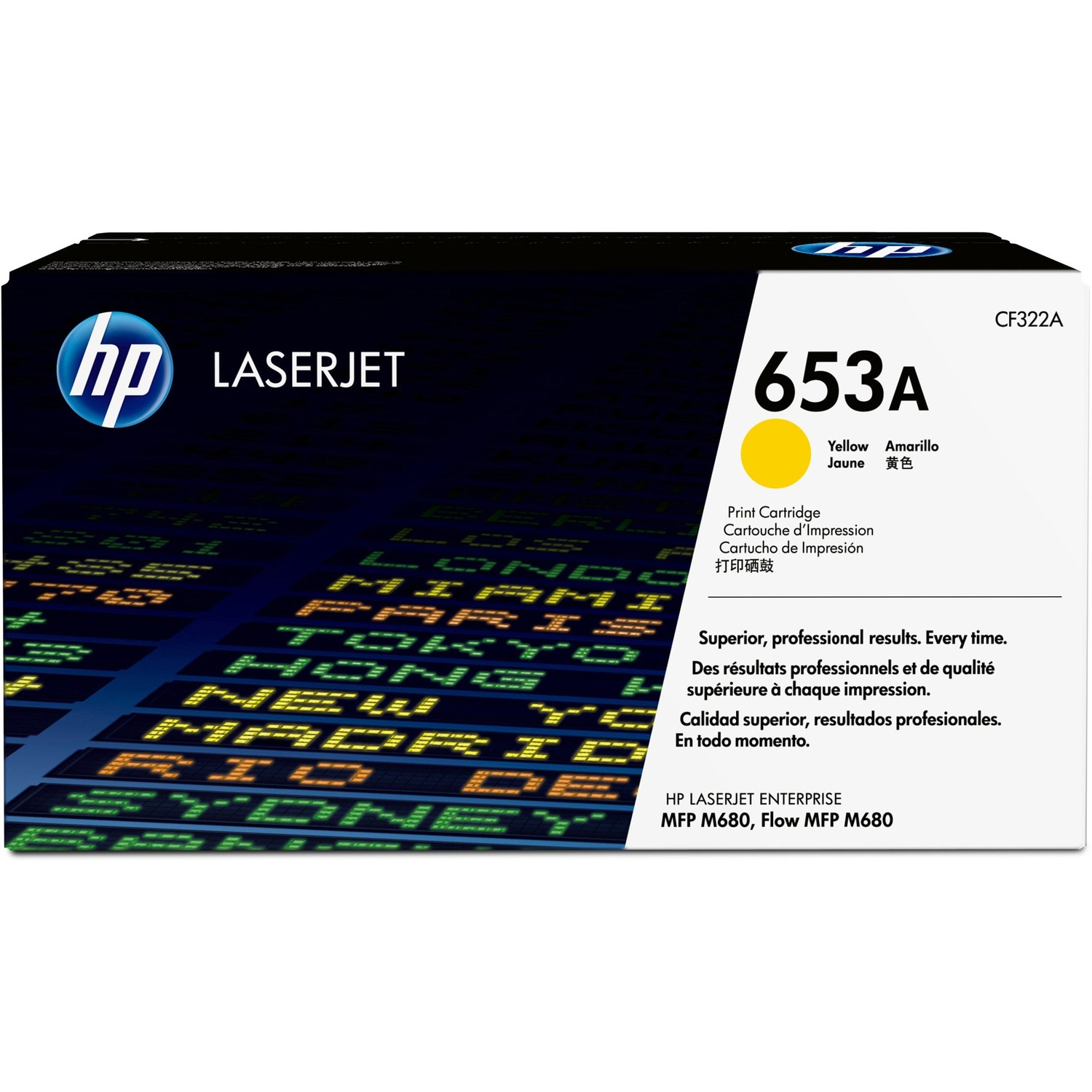 HP 653A Toner Cartridge - Yellow