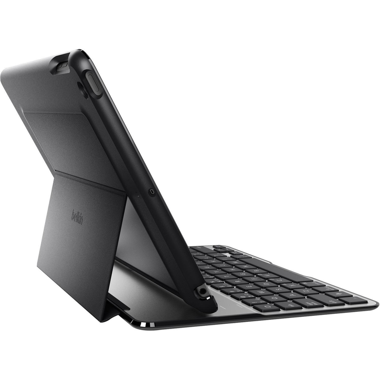 Belkin QODE Ultimate Keyboard/Cover Case Folio for iPad, iPad Air - Black