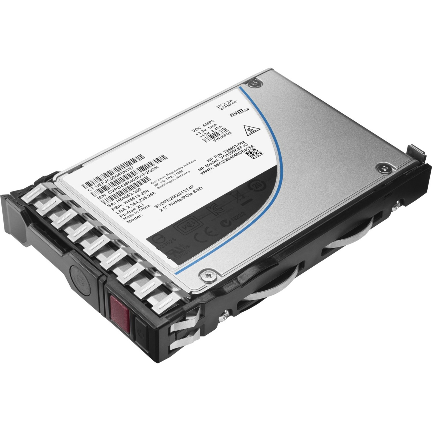 HP 960 GB 2.5inch Internal Solid State Drive - SATA - Hot Pluggable