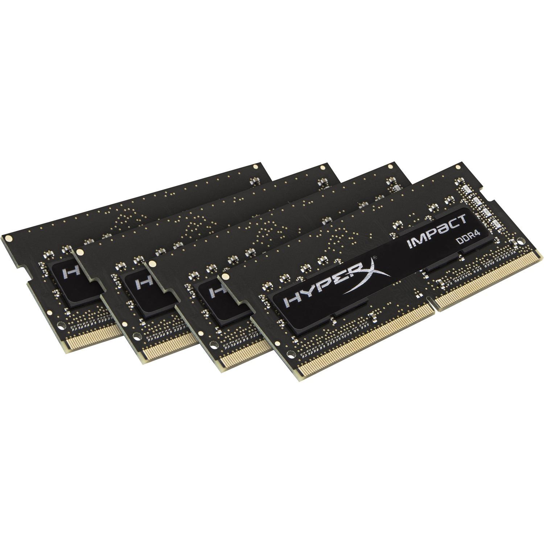 Kingston HyperX Impact RAM Module - 16 GB 4 x 4 GB - DDR4 SDRAM - 2133 MHz DDR4-2133/PC4-17000 - 1.20 V - Non-ECC - Unbuffered - CL14 - 260-pin - SoDIMM