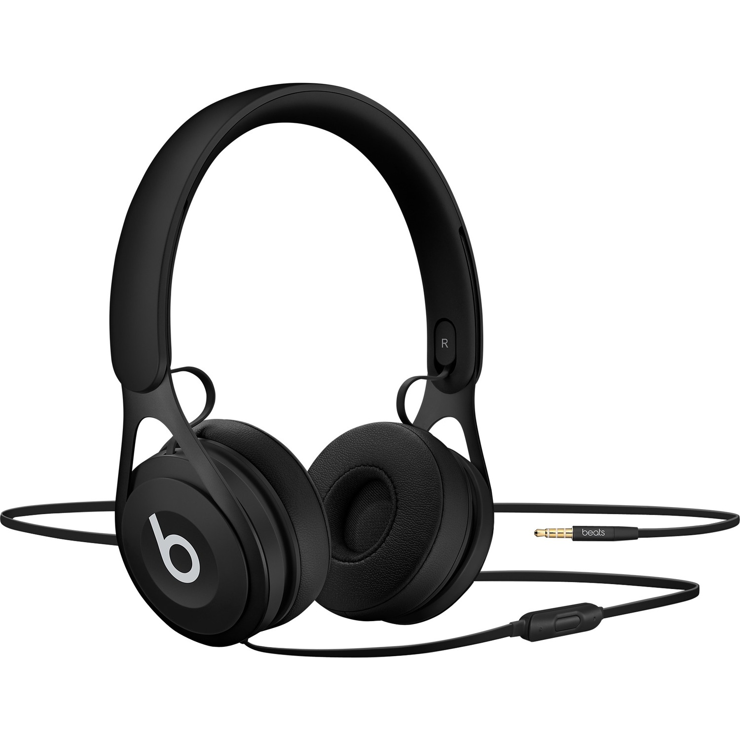 Beats by Dr. Dre EP Wired Stereo Headset - Over-the-head - Supra-aural - Black - Mini-phone