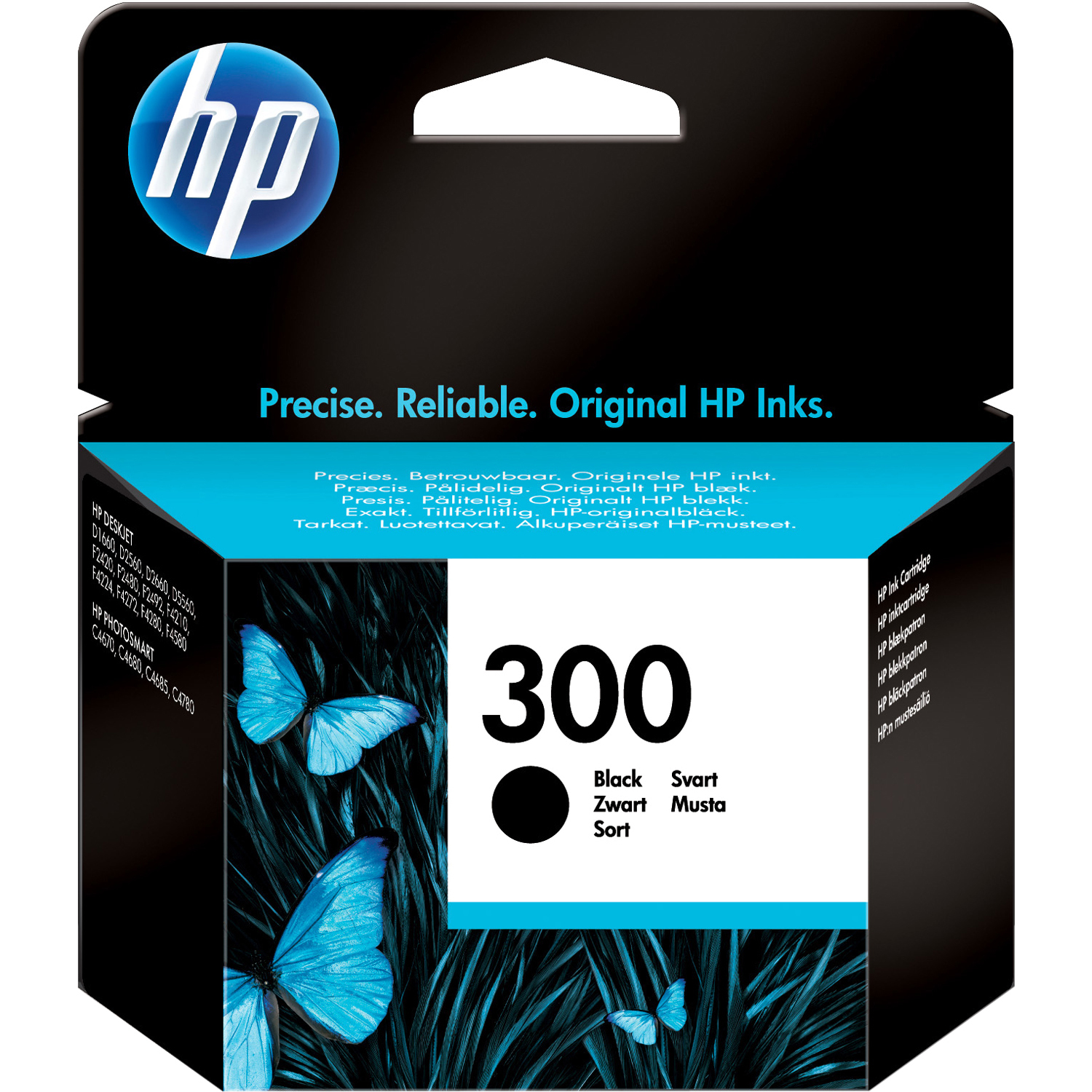 HP No. 300 Ink Cartridge - Black
