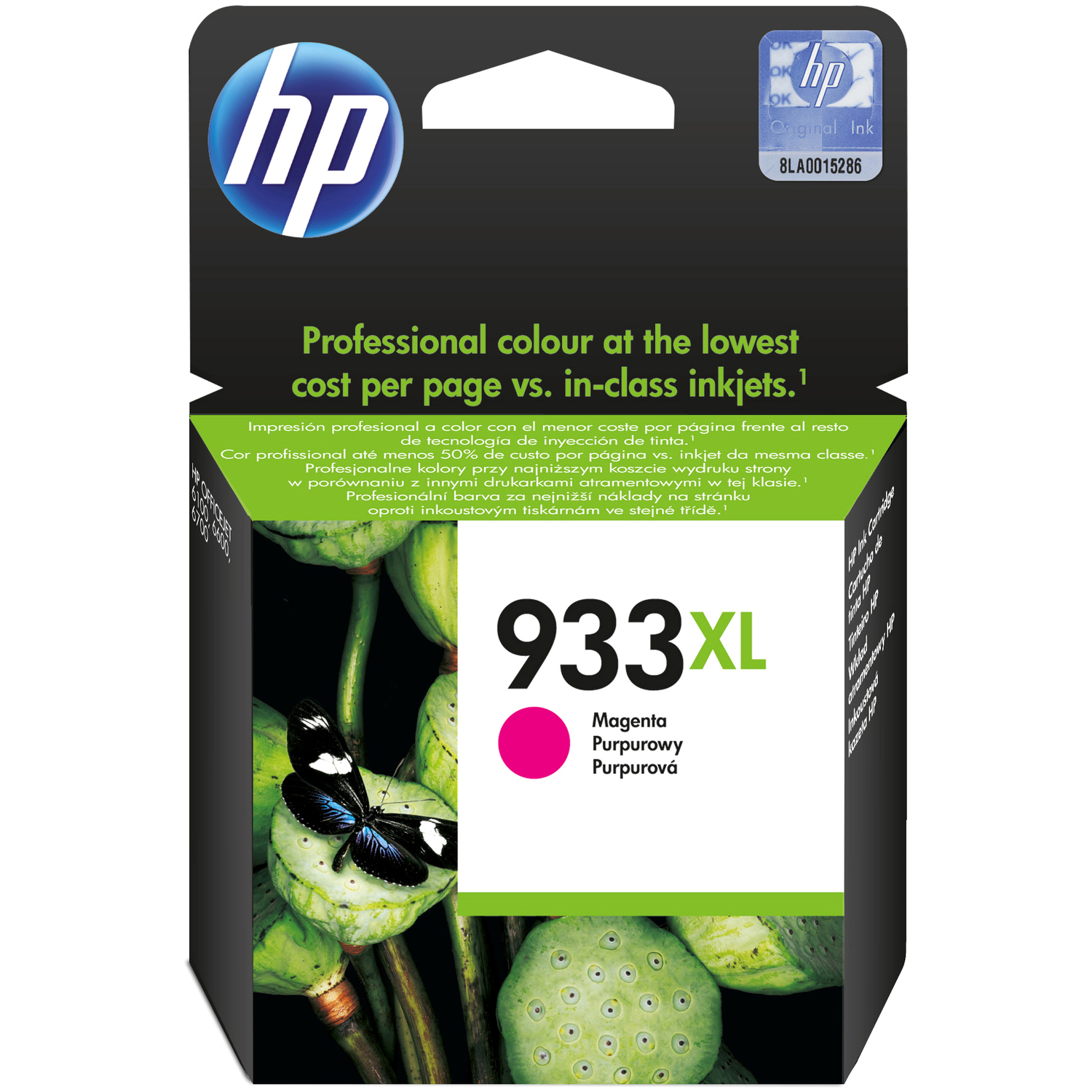 HP 933XL Magenta Ink Cartridge - CN055AE#301