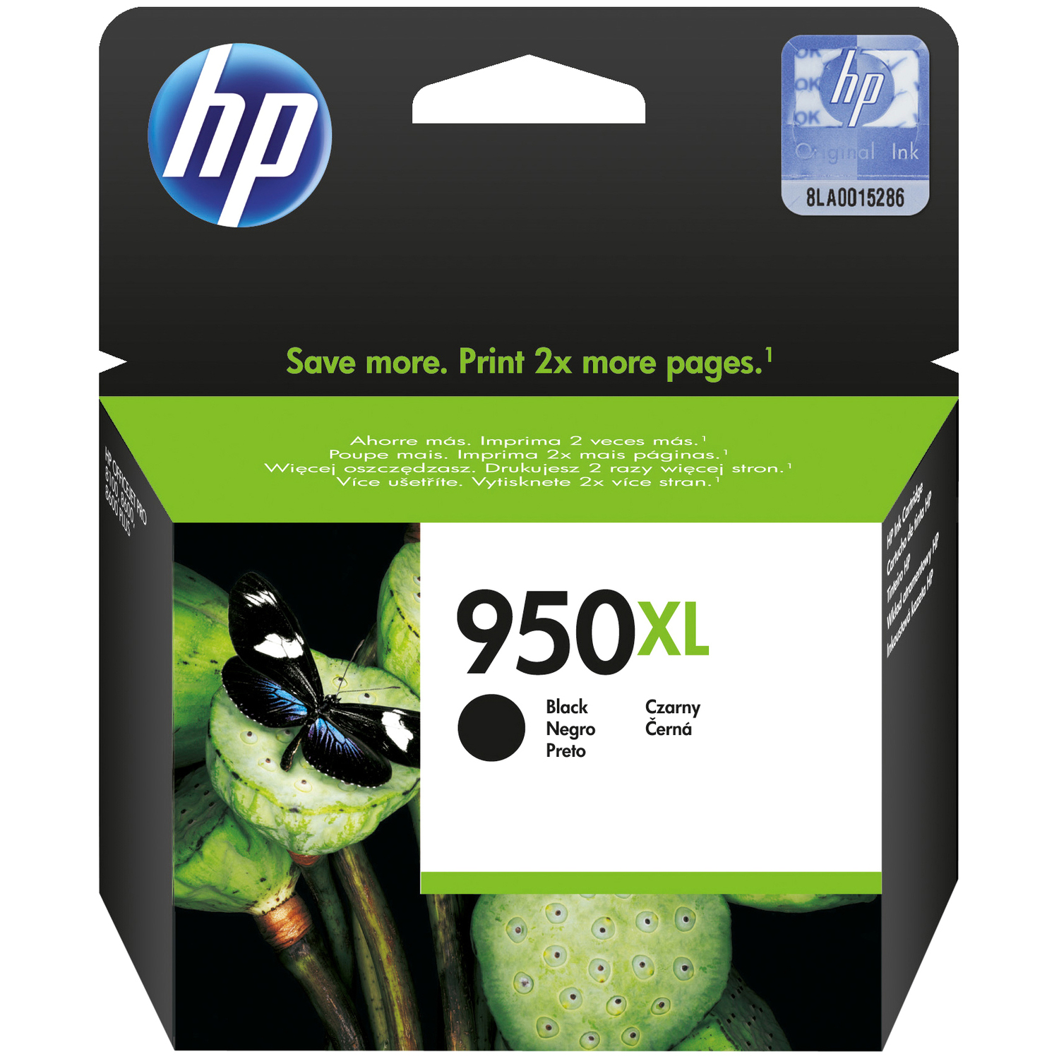HP 950XL Black Ink Cartridge - CN045AE#BGY