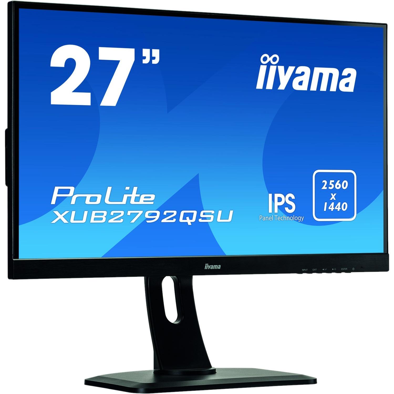 iiyama ProLite XUB2792QSU-B1 27inch LED LCD Monitor - 16:9 - 5 ms