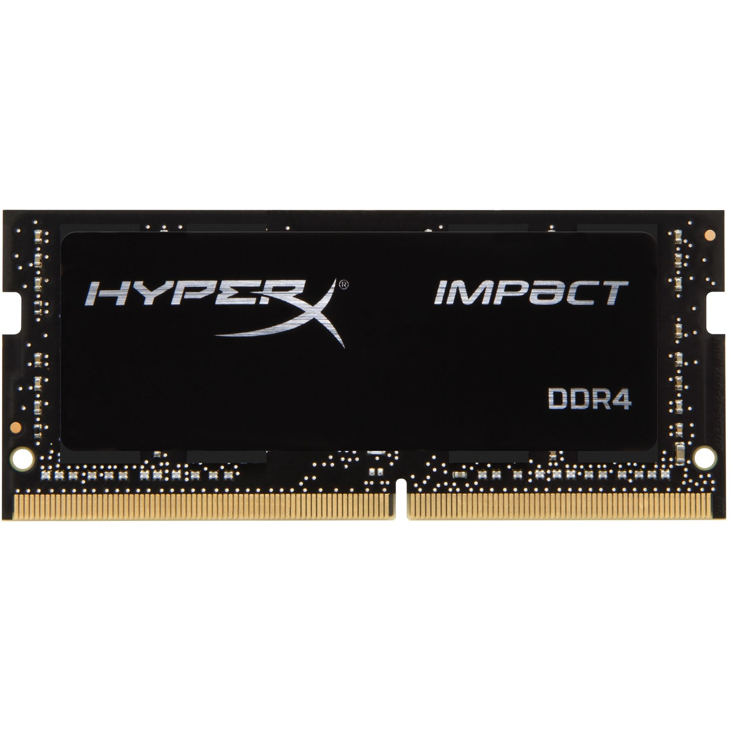 Kingston HyperX Impact RAM Module - 8 GB - DDR4 SDRAM - 2666 MHz DDR4-2666/PC4-21300 - 1.20 V - Non-ECC - Unbuffered - CL15 - 260-pin - SoDIMM
