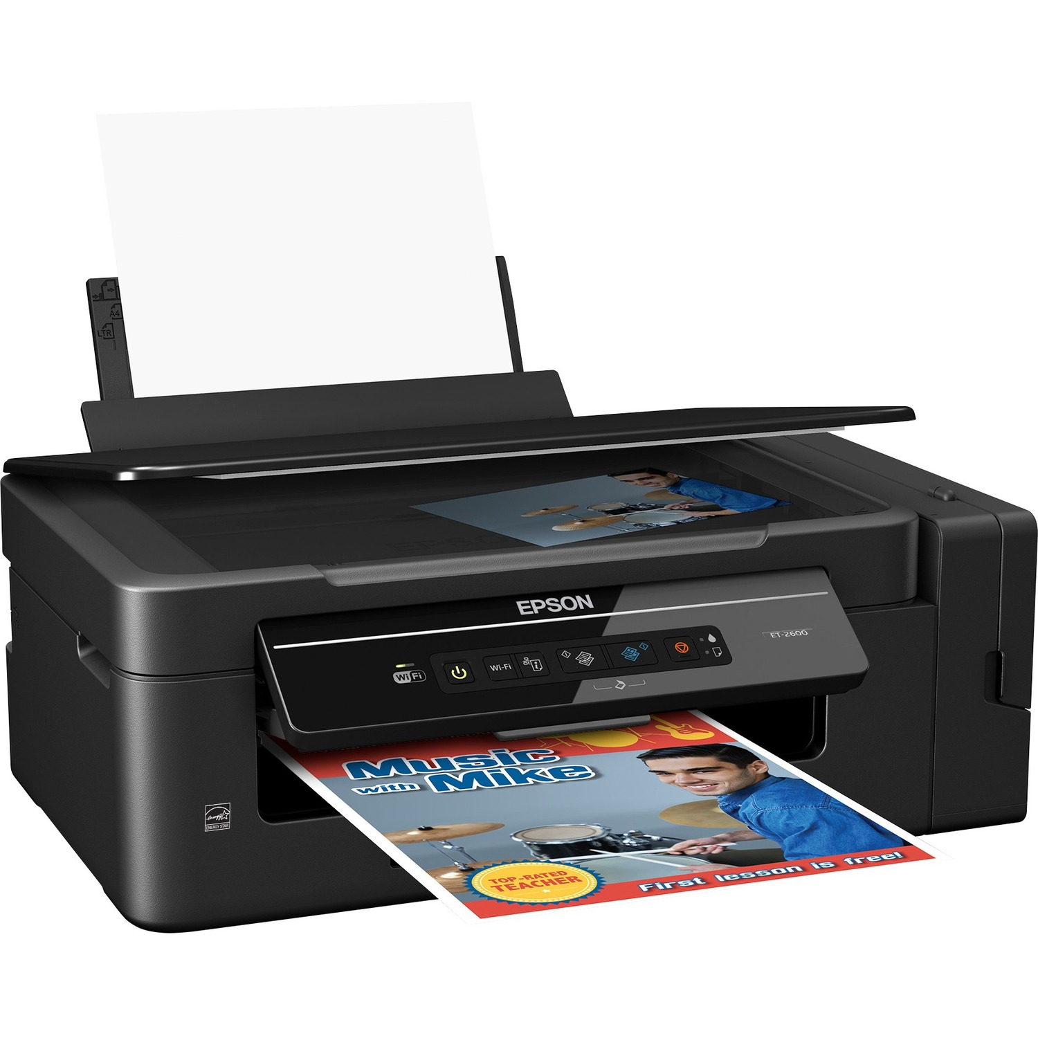 Epson ET-2600 Inkjet Multifunction Printer - Colour - Photo Print