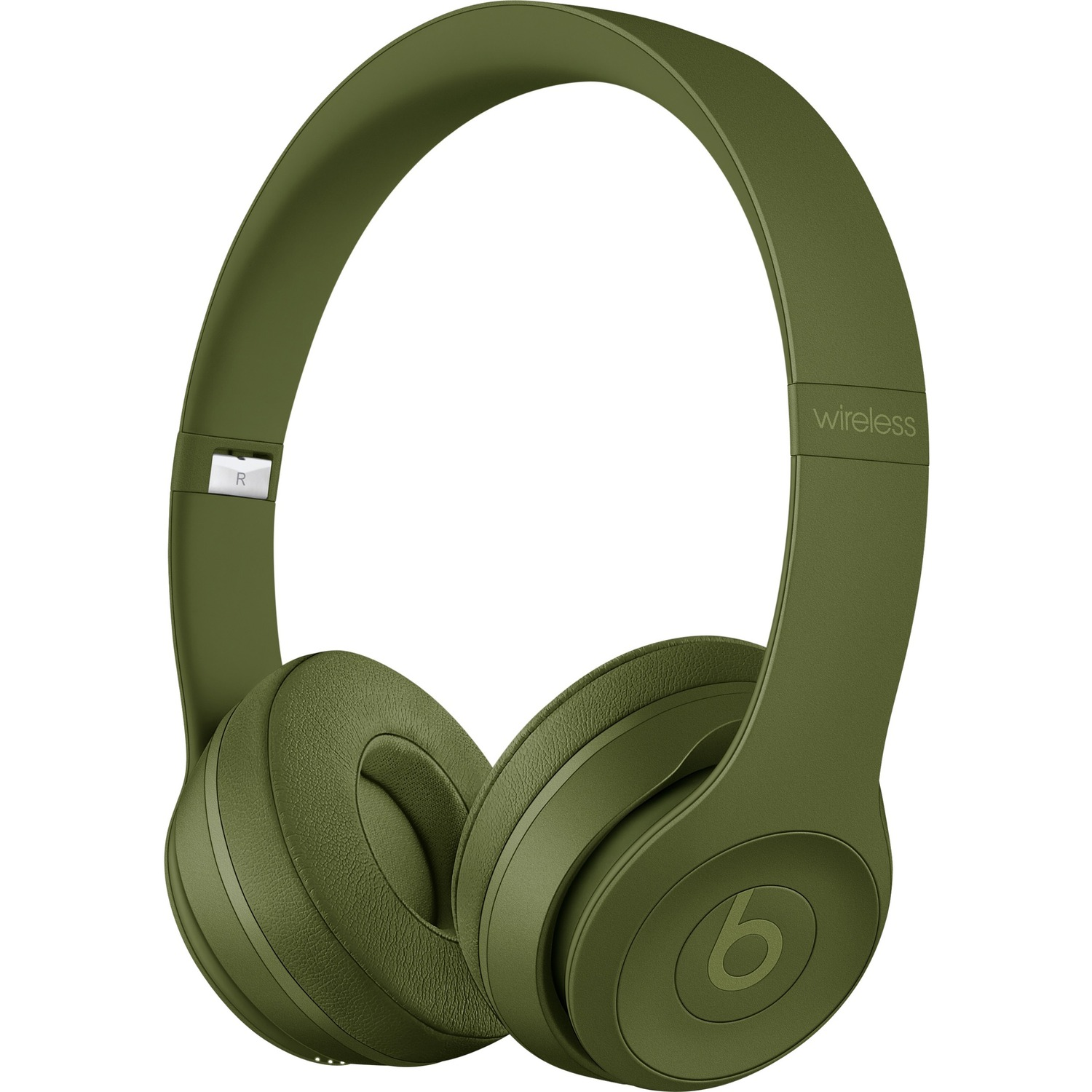 Beats by Dr. Dre Solo3 Wired/Wireless Bluetooth Stereo Headset - Over-the-head - Circumaural - Turf Green