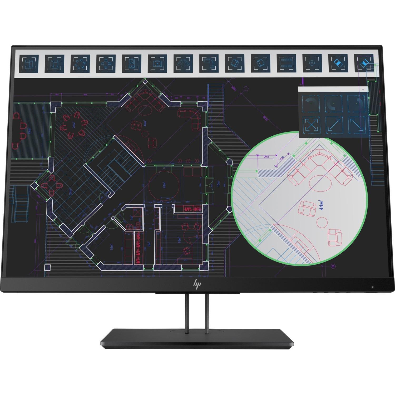 HP Z24i G2 61 cm 24inch LED LCD Monitor - 16:10 - 5 ms