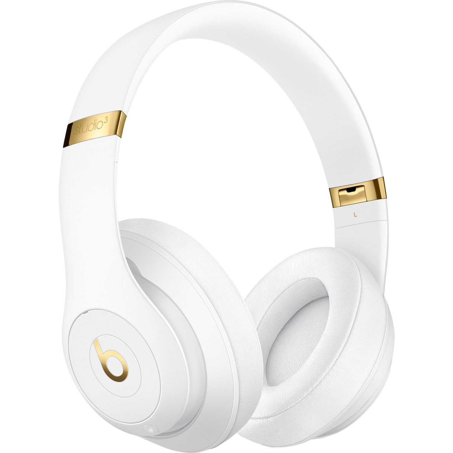 Beats by Dr. Dre Studio3 Wired/Wireless Bluetooth Stereo Headset - Over-the-head - Circumaural - White