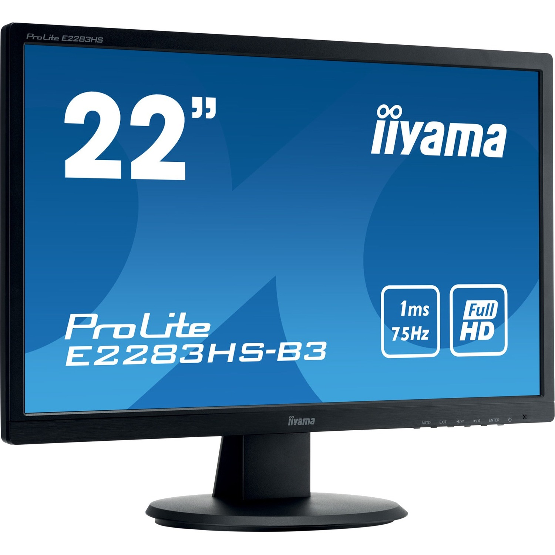 Iiyama ProLite E2283HS-B3 21.5inch LED Monitor