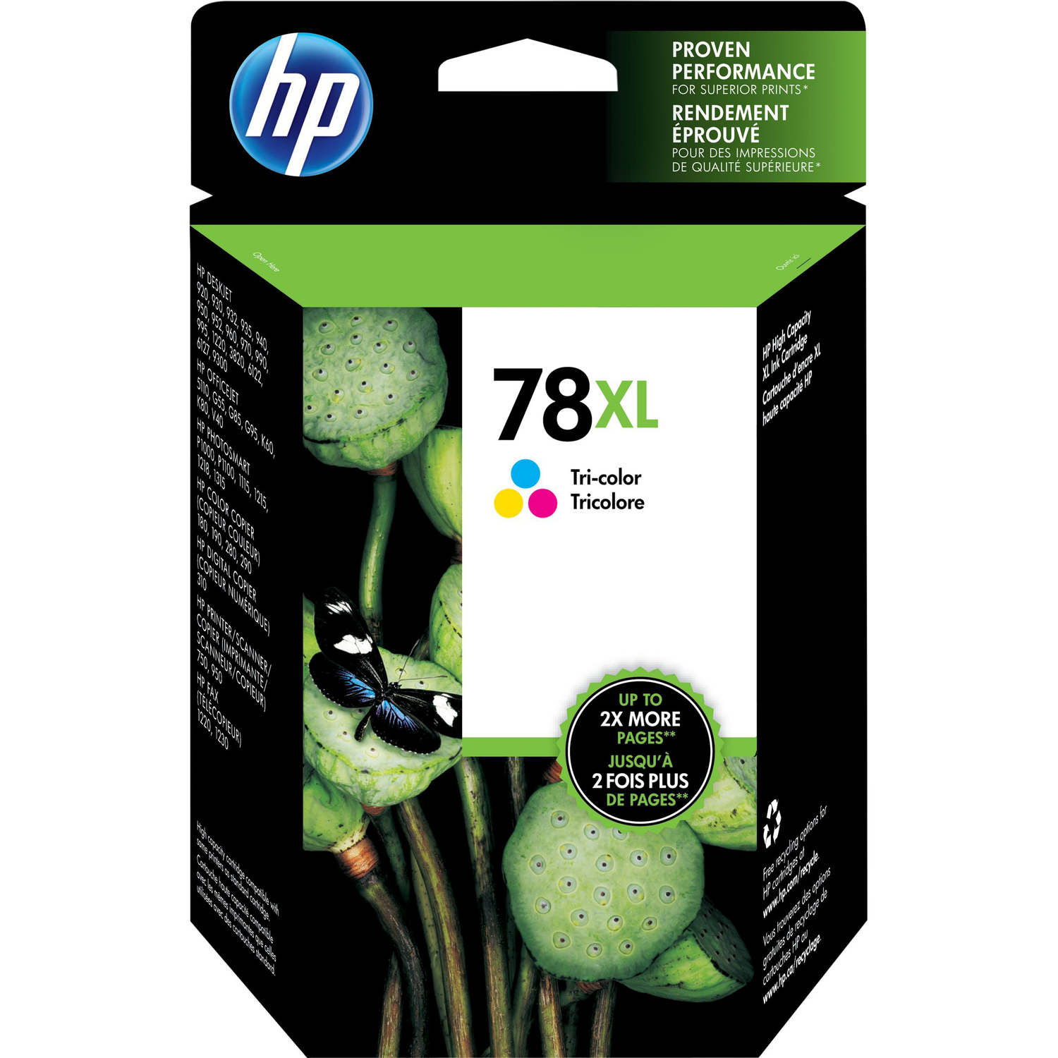 HP No. 78 Ink Cartridge - Cyan, Magenta, Yellow