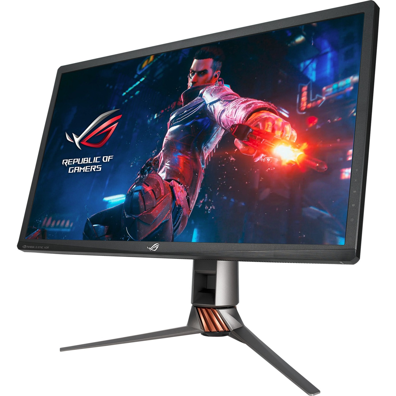 Asus ROG SWIFT PG27UQ 27inch IPS LED LCD Monitor - 16:9 - 1ms BTW - 144Hz