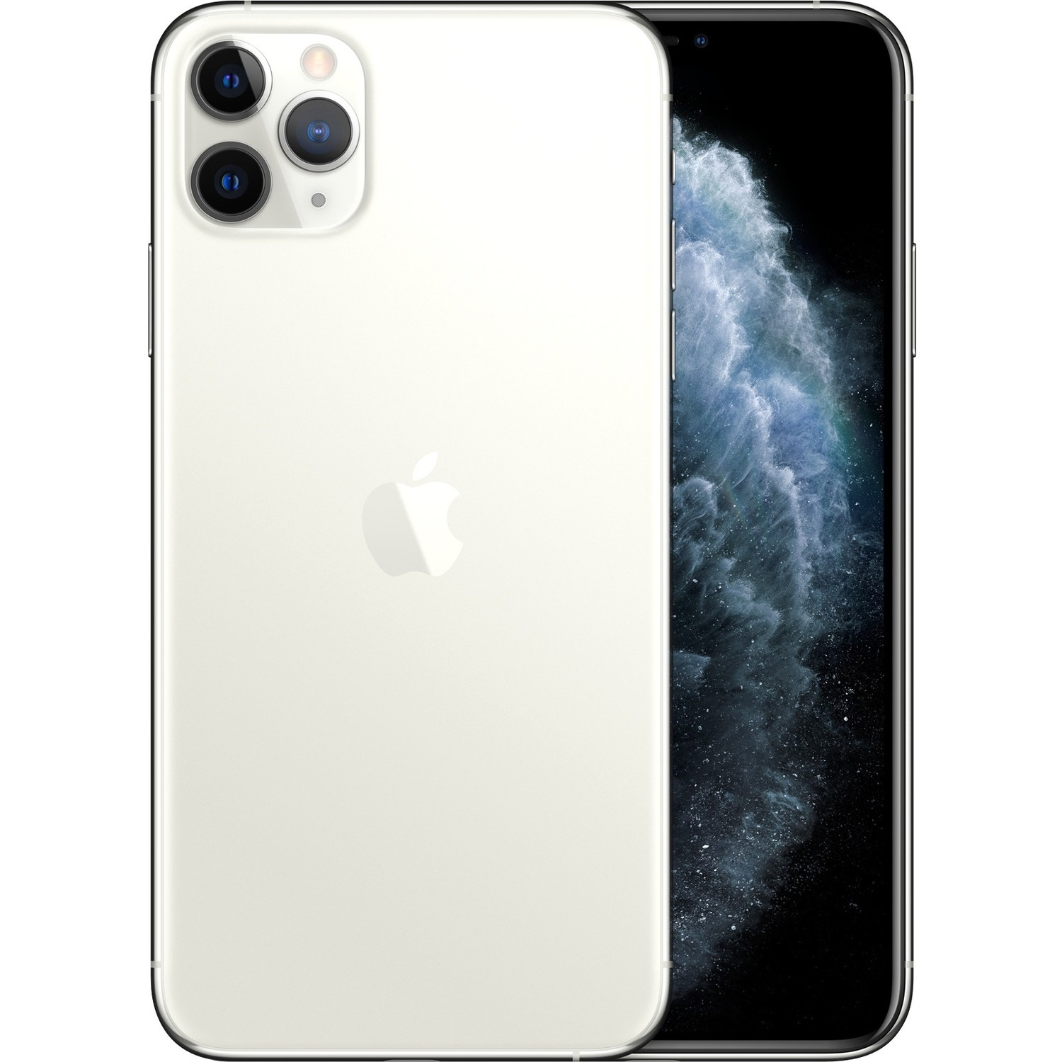 Apple iPhone 11 Pro Max A2218 64 GB Smartphone - 16.5 cm 6.5And#34; Full HD Plus - 4 GB RAM - iOS 13 - 4G - Silver