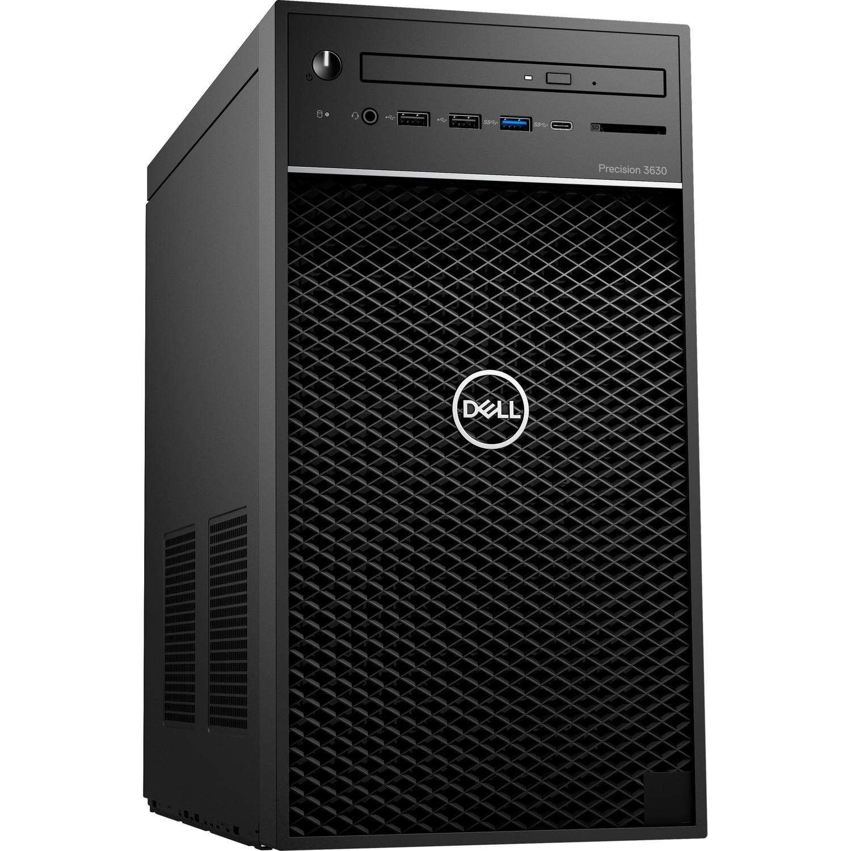 Dell Precision 3000 3630 Workstation - Core i7 i7-9700 - 8 GB RAM - 256 GB SSD - Mini-tower - Windows 10 Pro 64-bitNVIDIA Quadro P620 2 GB Graphics - DVD-Writer - Se