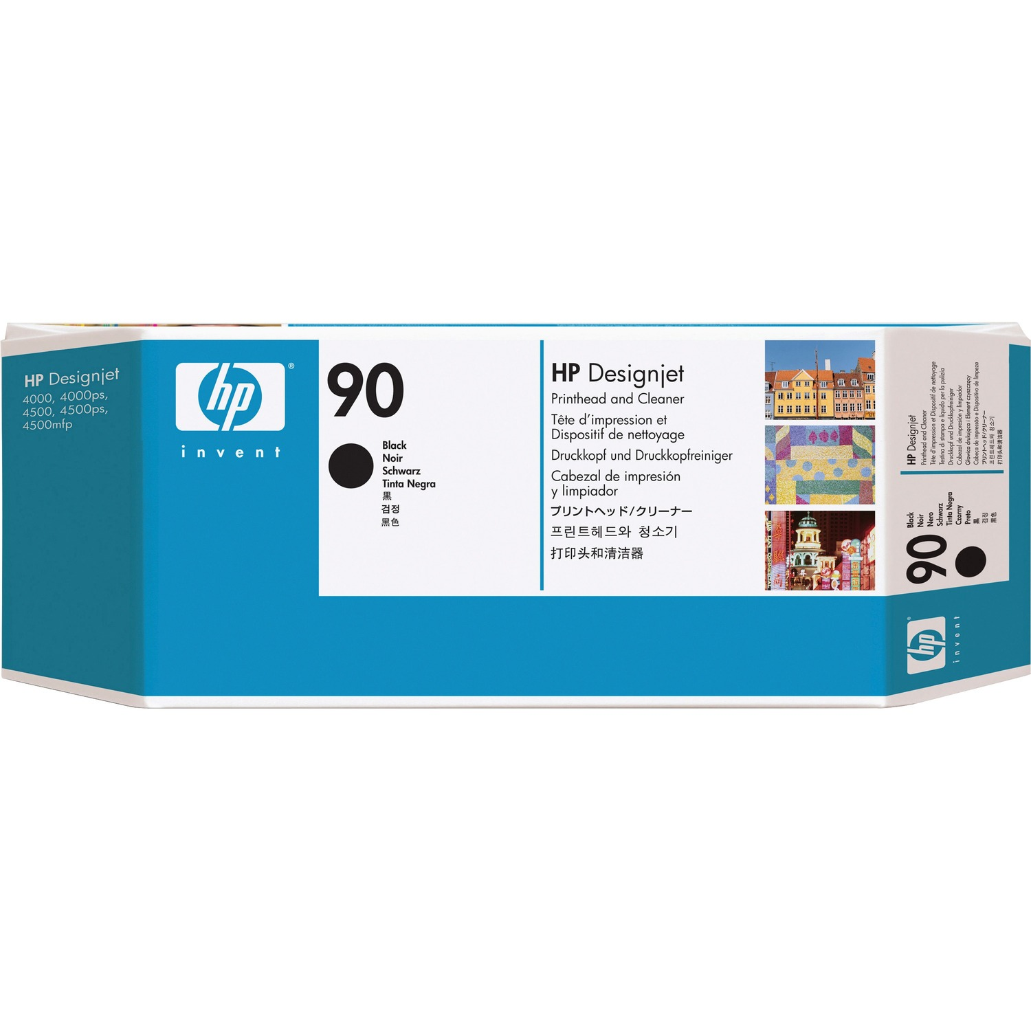 HP 90 Black High Yield Inkjet Cartridge - C5054A