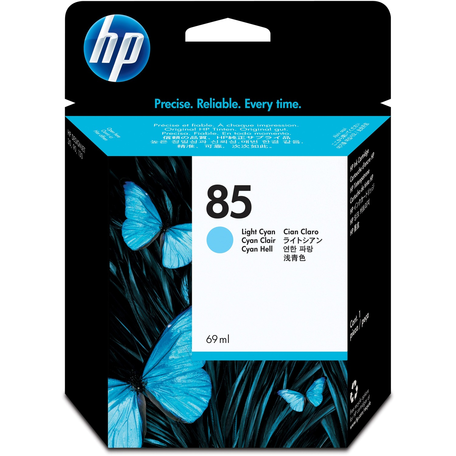 HP No. 85 Ink Cartridge - Light Cyan