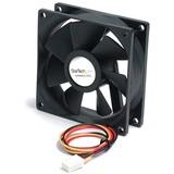 StarTech.com 80x25mm Ball Bearing Quiet Computer Case Fan w/ TX3 Connector - Fan Kit - 80mm - 2000rpm