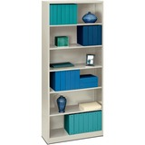 "HON Brigade 6-Shelf Bookcase, 34-1/2""W"