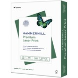 """Hammermill Laser Print Laser Paper - Letter - 8 1/2"""" x 11"""" - 28 lb Basis Weight - Ultra Smooth - White"""
