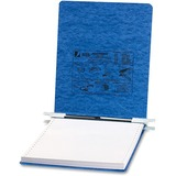"Acco 9.5""x11"" Presstex Storage Hooks Data Binders - 6"" Binder Capacity - 9 1/2"" x 11"" Sheet Size - Light Blue - Recycled - 1 Each"