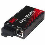 B&B Giga-MiniMc, TX/SSLX-SM1310-SC  (1310xmt/1550rcv)