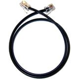 Plantronics Dual Filter Phone Cable - Black