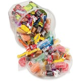 Office Snax Soft & Chewy Mix Assorted Candy Tub - Resealable Container, Individually Wrapped - 907.2 g - 1 EachCanister